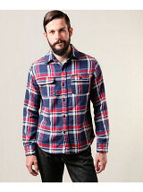 HEAVY NEL CHECK / COWBOY WORK SHIRT