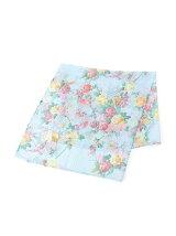 シフォン鳥花柄スカーフ