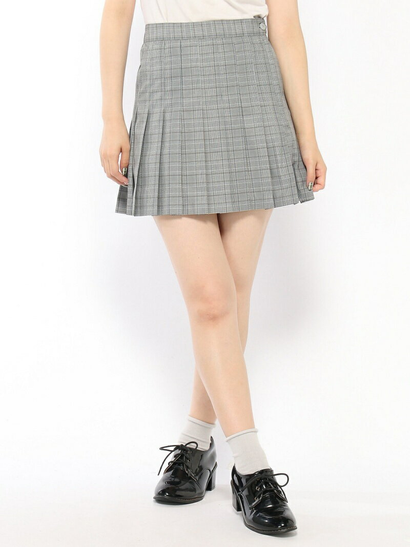 BROWNY STANDARD BROWNY STANDARD/(L)チェックプリーツミニスカート ウィゴー スカート