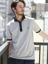 UNITED ARROWS green label relaxing 【WEB限定】BC★★DRY COMBI/COL ポロシャツ <機能性素材> ユナイテッド...