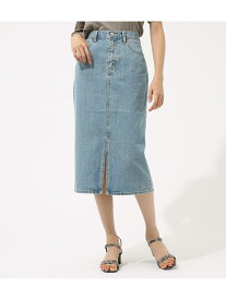 【SALE/50%OFF】AZUL by moussy CENTERSLITDENIMMIDISKIRT アズールバイマウジー スカート スカートその他 ブルー