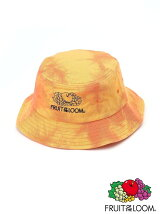 FRUIT OF THE LOOM/(U)FTL TIE DYE BUCKET HAT