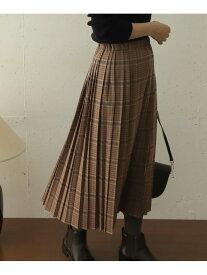 DOORS チェックプリーツスカート アーバンリサーチドアーズ スカート スカートその他【送料無料】