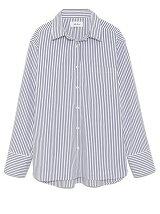 衿ワイヤー入りシャツ