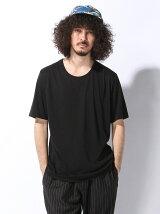ドレープクルーネックTシャツ
