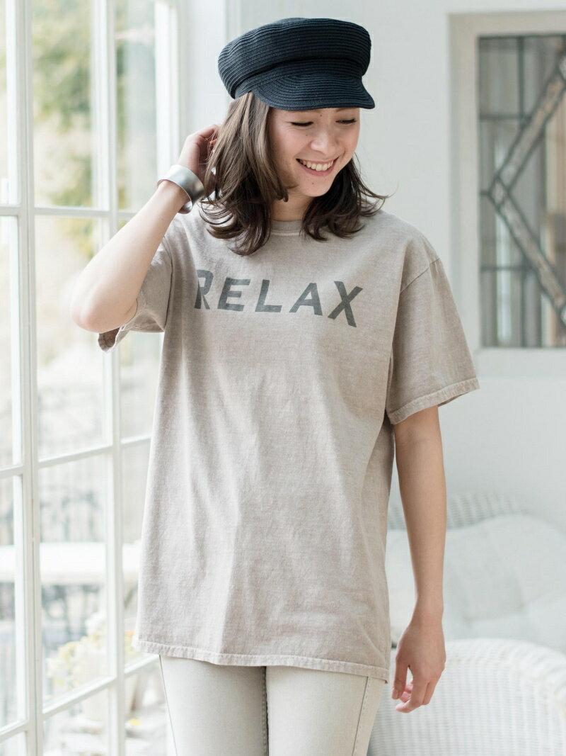 【SALE/17%OFF】RELAX ピグメント半袖Tシャツ    カットソー【RBA_S】【RBA_E】