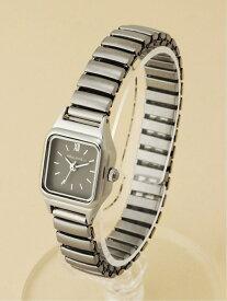 【SALE/30%OFF】niko and... (W)スクエアジャバラウォッチ ニコアンド ファッショングッズ 腕時計 グレー ピンク ブラウン ホワイト