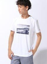 プリントレギュラーフィットTシャツ