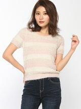 MIXボーダーknit TOP