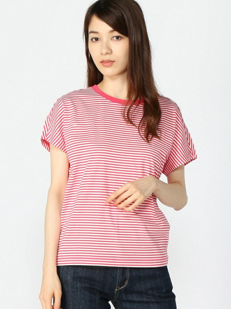 【SALE/30%OFF】W ストライプTシャツ エーグル カットソー【RBA_S】【RBA_E】【送料無料】