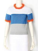 shape memory colorblock pullover