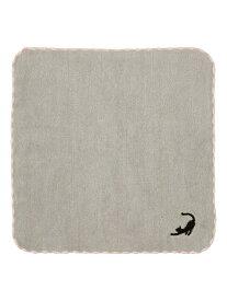 Francfranc バロット ハンカチタオル フランフラン ファッショングッズ スカーフ/バンダナ ネイビー ホワイト グレー ブルー ブラック ピンク