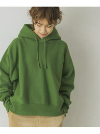URBAN RESEARCH 【予約】【別注】Champion*URBANRESEARCH Reverse Weave Parka アーバンリサーチ カットソー パーカー カーキ グレー【送料無料】