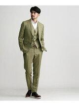 ピークドラペル3ピーススーツ