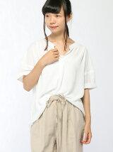 (L)リボンスキッパーシャツ