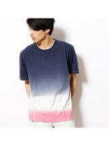 段染め半袖Tシャツ