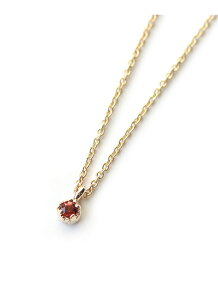 (W)小さな誕生石ネックレス