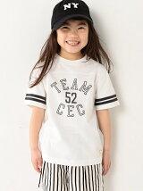 【coen キッズ】フットボールTシャツ(100〜150cm)