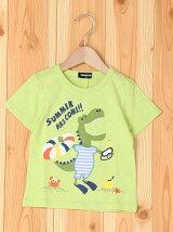 【追加】海水浴ザウルス半袖Tシャツ