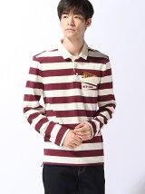 (M)ボーダーラガーシャツ