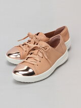 (W)F-SPORTY MIRROR-TOE SNEAKERS