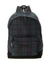 (A)Pique Blackwatch Print Backpack