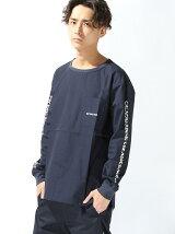 Sleeve Print L/S Shirt