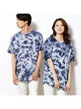 むら染めロングTシャツ