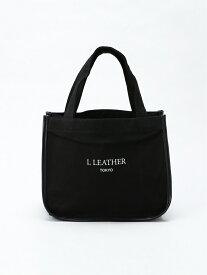 L LEATHER CCLミニトートバッグ エルレザー バッグ トートバッグ ブラック グレー ベージュ オレンジ カーキ ブルー