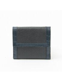 interstaple Natalie/2つ折ウォレット インターステイプル 財布/小物 革小物 ブルー ベージュ【送料無料】