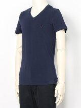 (M)ベーシックVネックTシャツ