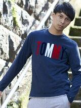 (M)TOMMYロゴロングTシャツ