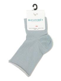 SHIPS WOMEN BLEU FORET:カラーコットン ショートソックス シップス ファッショングッズ ソックス/靴下 ブルー レッド イエロー パープル