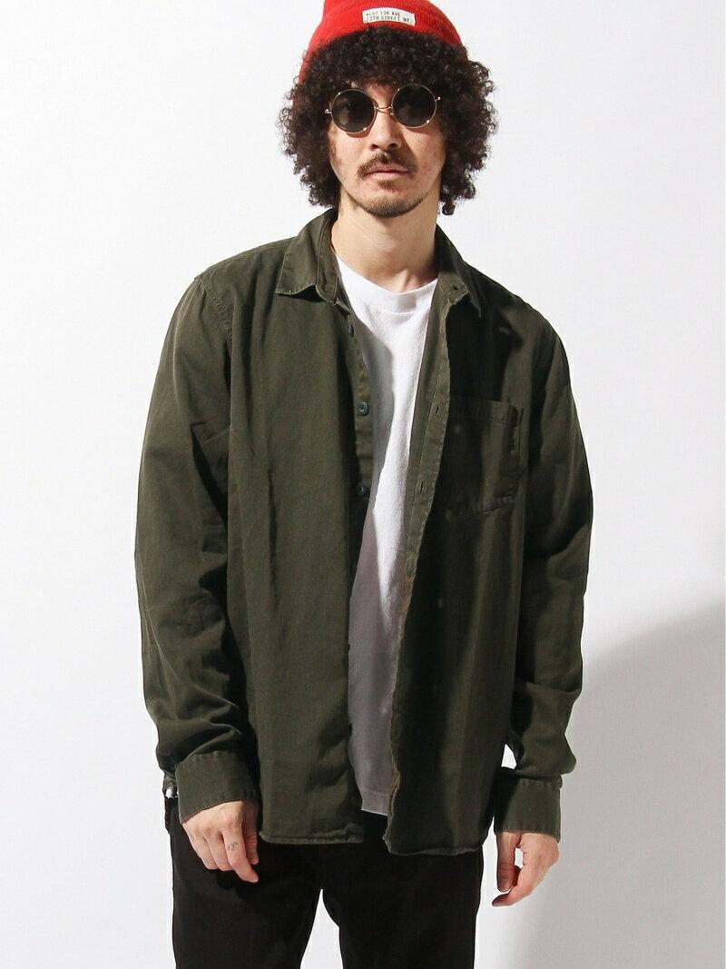 nudie jeans nudie jeans/(M)Henry_LS-シャツ ヌーディージーンズ / フランクリンアンドマーシャル シャツ/ブラウス【送料無料】