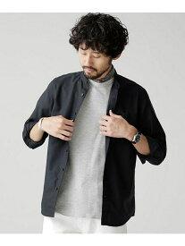 【SALE/30%OFF】nano・universe オックスバンドカラーシャツ ナノユニバース シャツ/ブラウス【RBA_S】【RBA_E】