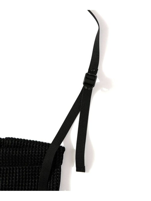 Mesh Bucket Shoulder Bag