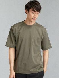 【SALE/30%OFF】UNITED ARROWS green label relaxing CMハイゲージポンチクルーTシャツ ユナイテッドアローズ グリーンレーベルリラクシング カットソー Tシャツ カーキ ホワイト ブラック ブラウン ブルー ネイビー