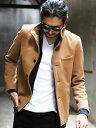 RATTLE TRAP ハイブリットメルトンスタンドブルゾン メンズ ビギ コート/ジャケット コート/ジャケットその他 ブラウ…