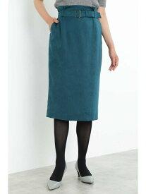 【SALE/64%OFF】BOSCH フェイクスエードタイトスカート ボッシュ スカート スカートその他 グリーン グレー カーキ【送料無料】