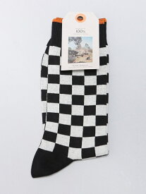 【SALE/50%OFF】nudie jeans nudie jeans/(M)Olsson_ソックス ヒーローインターナショナル マーケット プレイス ファッショングッズ ソックス/靴下 ブラック オレンジ