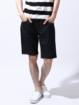 HELMET DENIM SHORT