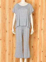 ココナッツTシャツ&ロングパンツ巾着セット/ルームウエア/パジャマ