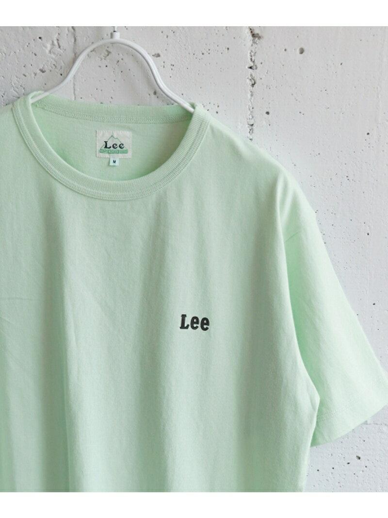 【SALE/40%OFF】DOORS Lee×DOORS-natural- スモールロゴTシャツ アーバンリサーチドアーズ カットソー【RBA_S】【RBA_E】