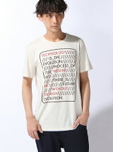 (M)メッセージプリントTシャツ・カットソーUDDWS