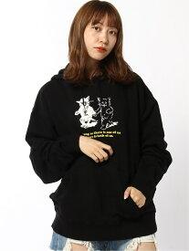 X-girl CATS SWEAT HOODIE エックスガール カットソー パーカー ブラック ブラウン ホワイト【送料無料】