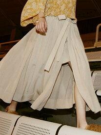 【SALE/57%OFF】beautiful people cu/pa typewriterskirt ビューティフル ピープル スカート【RBA_S】【RBA_E】【送料無料】