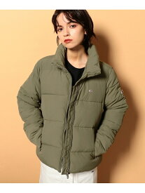 TOMMY JEANS TOMMY JEANS/(W)TOMMY HILFIGER(トミーヒルフィガー) ナイロンパファージャケット トミーヒルフィガー コート/ジャケット ショートコート カーキ ブラック【送料無料】