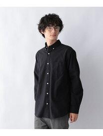GLOBAL WORK (M)OXフォードB.Dシャツ グローバルワーク シャツ/ブラウス 長袖シャツ ネイビー ブルー ベージュ ホワイト