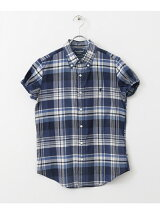 GYMPHLEX MADRAS CHECK S/S SHIRTS