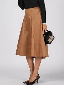 Viaggio Blu サンジェルマンツイルフレアスカート ビアッジョブルー スカート スカートその他 ブラウン ピンク カーキ【送料無料】
